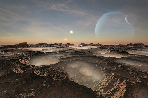 What happens when exoplanets orbit two stars at once?