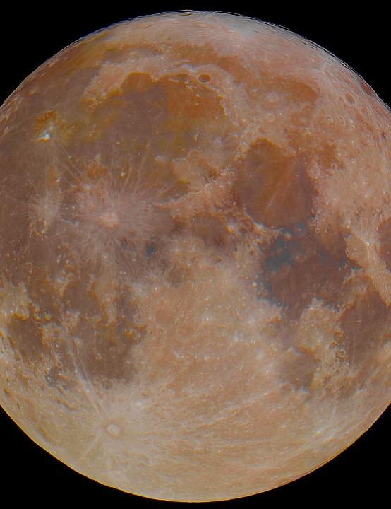 Harvest Moon Stuart Green, Preston, 1 October 2020 Equipment: Nikon D5500 DSLR, Tecnosky 125mm f7.8 apo refractor