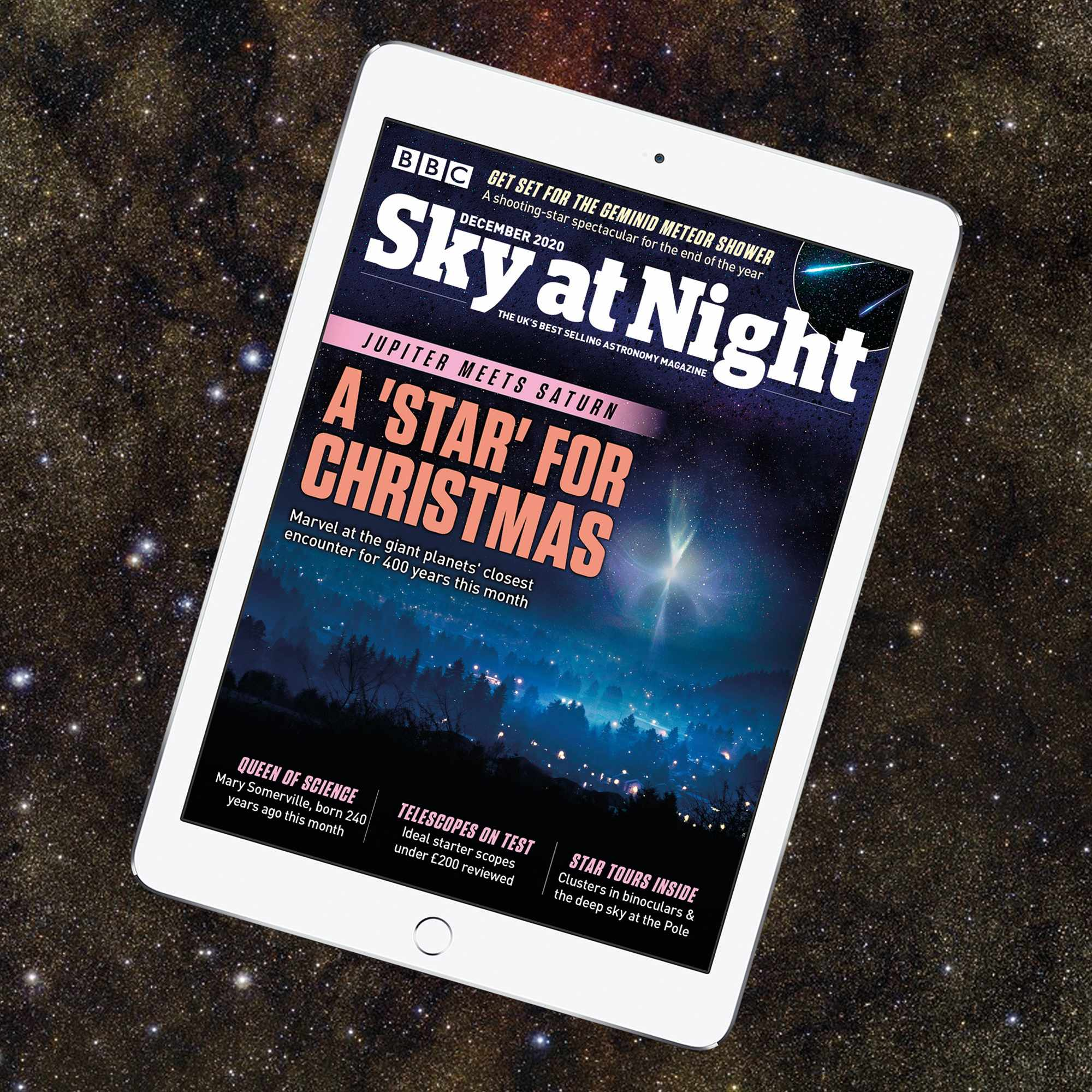BBC Sky at Night Magazine December 2020 issue iPad edition