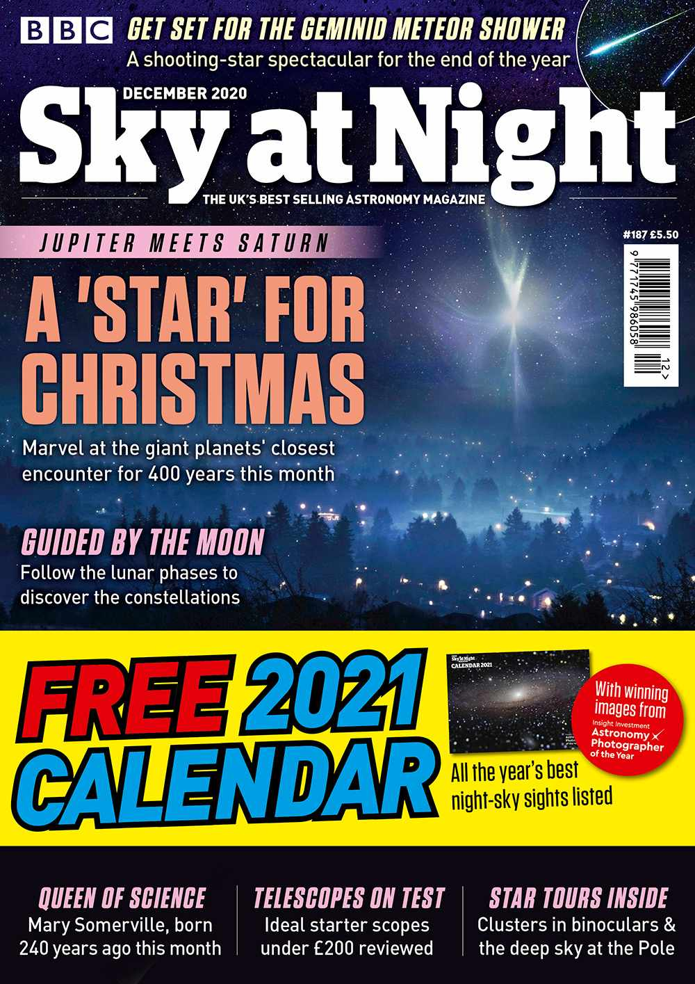 BBC Sky at Night Magazine December 2020 issue
