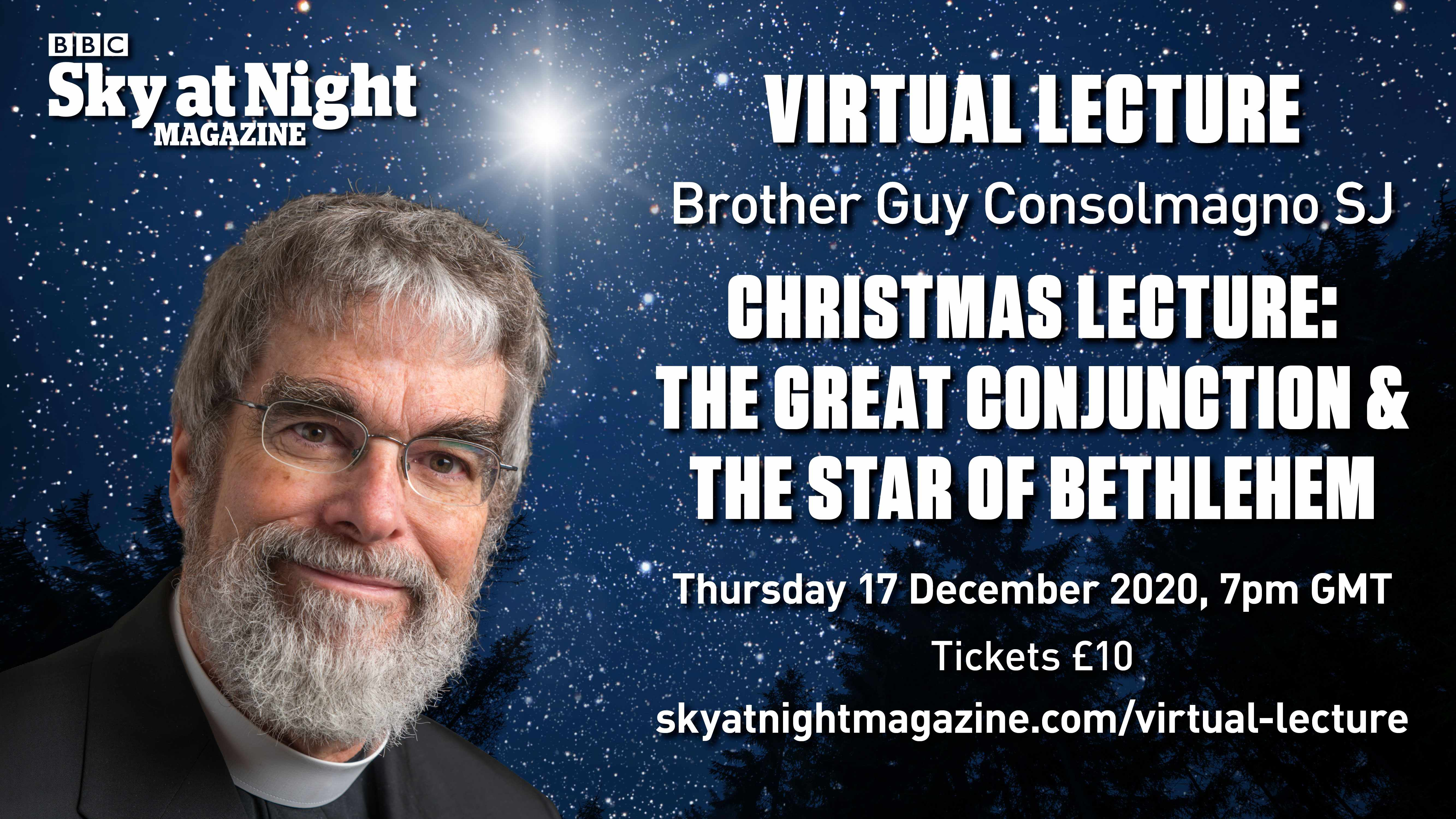 Join BBC Sky at Night Magazine's webinar with Guy Consolmagno on 17 December 2020