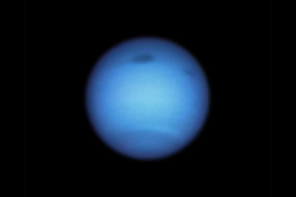 Strange dark storms spotted on planet Neptune