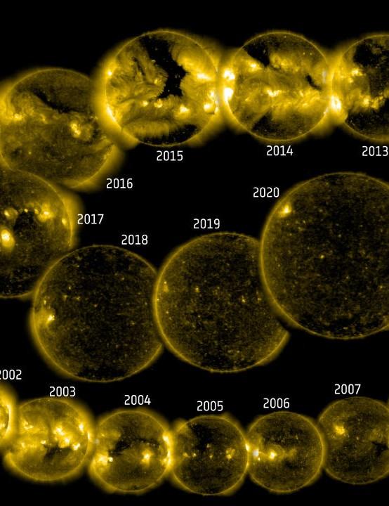 SOLAR AND HELIOSPHERIC OBSERVATORY (SOHO) 25TH ANNIVERSARY SOLAR AND HELIOSPHERIC OBSERVATORY (SOHO), 2 DECEMBER 2020 CREDIT: SOHO (ESA & NASA)