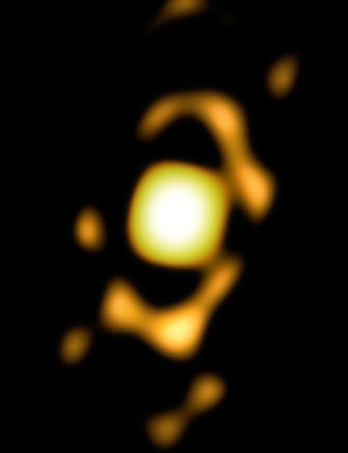 CENTRE OF THE TOBY JUG NEBULA VERY LARGE TELESCOPE INTERFEROMETER (VLTI), 25 NOVEMBER 2020 Credit: ESO/Ohnaka et al.