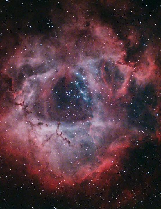 The Rosette Nebula Martin Bracken, Chelmsford, 27 December 2020 Equipment:ZWO ASI 294MC Pro colour camera, Sky-Watcher Esprit 100ED apo triplet refractor, Sky-Watcher HEQ5 Pro mount