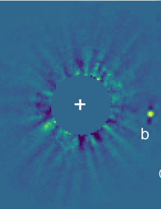 Direct image of brown dwarf HD 33632 Ab SUBARU TELESCOPE, 18 DECEMBER 2020 CREDIT: T. Currie, NAOJ/NASA-Ames