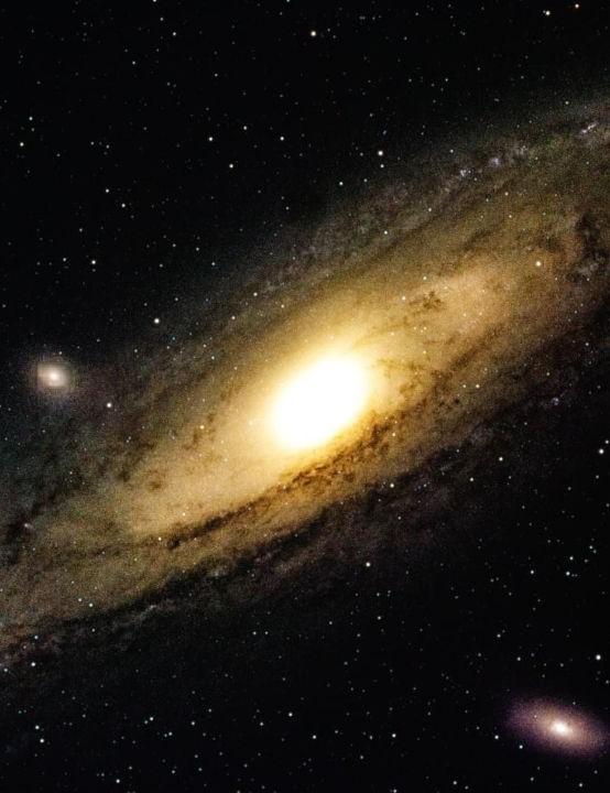 The Andromeda Galaxy NiallDonovan, Manchester, 24 September 2020 Equipment: Atik 16200 mono camera, Celestron NexStar 8SE