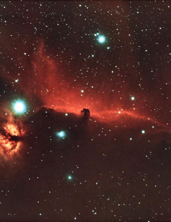 The Horsehead Nebula Ian Phillips, Weston super Mare, 25-26 November 2020 Equipment: ZWO ASI 533MC Pro camera, Sky-Watcher Evostar 72ED refractor, Sky-Watcher EQM-35 mount