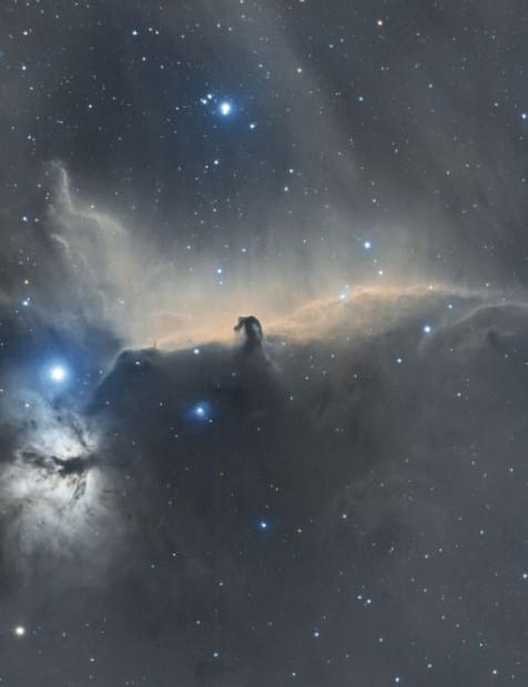 The Horsehead Nebula Chris Platkiw, Derbyshire, 25 November & 17 December 2020 Equipment: ZWO ASI 183mm Pro camera, Altair 72EDR refractor, Sky-Watcher HEQ5 Pro mount