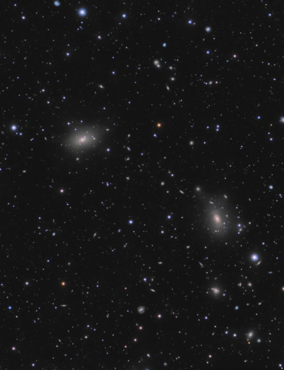 ACO 2197 galaxy cluster Vasilis Misirlis, Parnon Mountain, Greece, May 2020 Equipment: QHY183M camera, Celestron ED80 apo refractor, Sky-Watcher HEQ5 Pro mount
