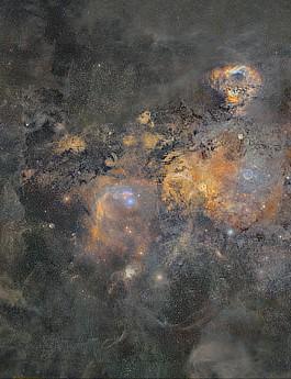 Milky way mega-mosaic J-P METSAVAINIO, MARCH 2021 CREDIT: J-P Metsavainio/Cover-Images.com