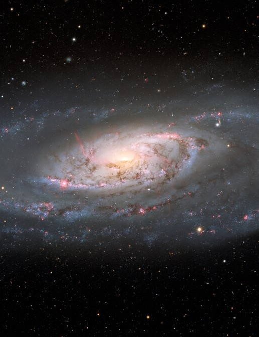 NGC 7678, a spiral galaxy with one 'heavy arm' HUBBLE SPACE TELESCOPE, 22 March 2021 CREDIT: ESA/Hubble & NASA, A. Riess et al.