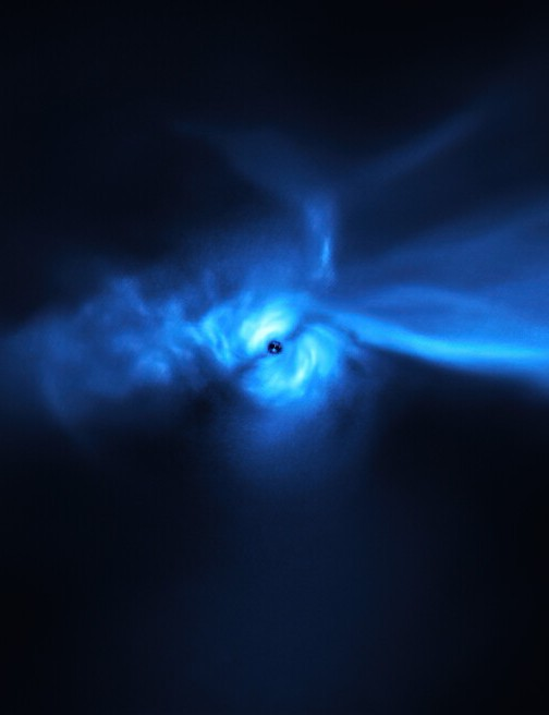 Star SU Aur and its giant planet-forming disc VERY LARGE TELESCOPE, 22 FEBRUARY 2021 CREDIT: ESO/Ginski et al.