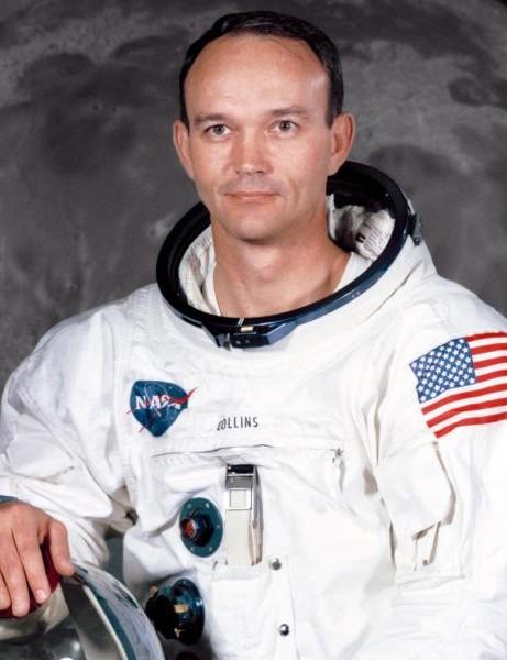 Michael Collins' official Apollo 11 portrait. Credit: NASA