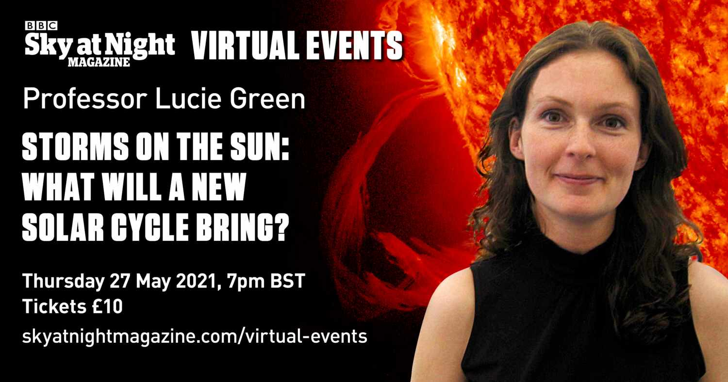 Lucie Green BBC Sky at Night Magazine sun solar science webinar