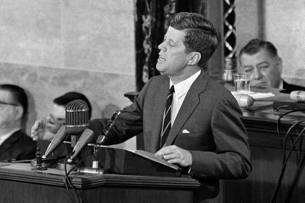 The story of JFK's Moon Shoot speech