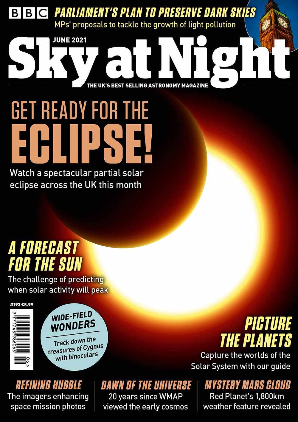 BBC Sky at Night Magazine June 2021 issue