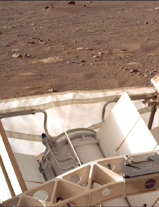 Message to Martians PERSEVERANCE, 14 MAY 2021 CREDIT: NASA/JPL-Caltech