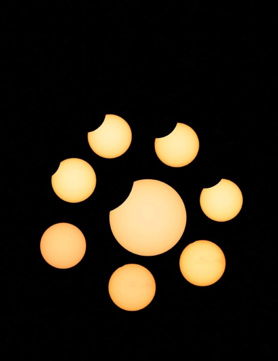 Image of the 10 June 2021 partial solar eclipse