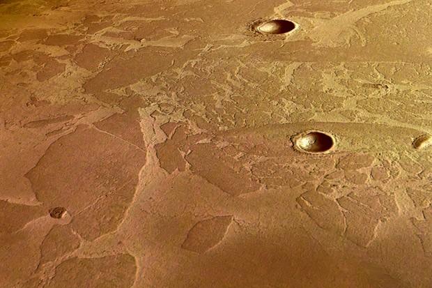 Are Mars volcanoes still active?