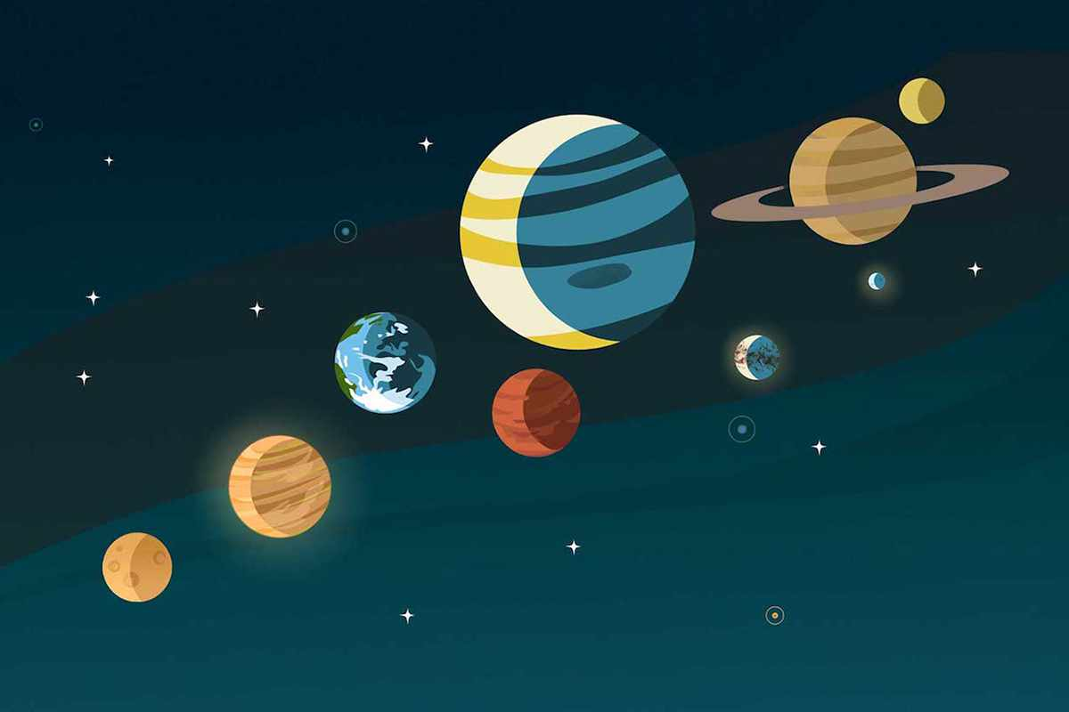 A guide to the planets of the Solar System