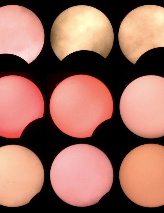 Pastel phases Alex Sultoon, London Equipment: Bresser HD WiFi camera, Coronado Personal Solar Telescope, Manfrotto tripod