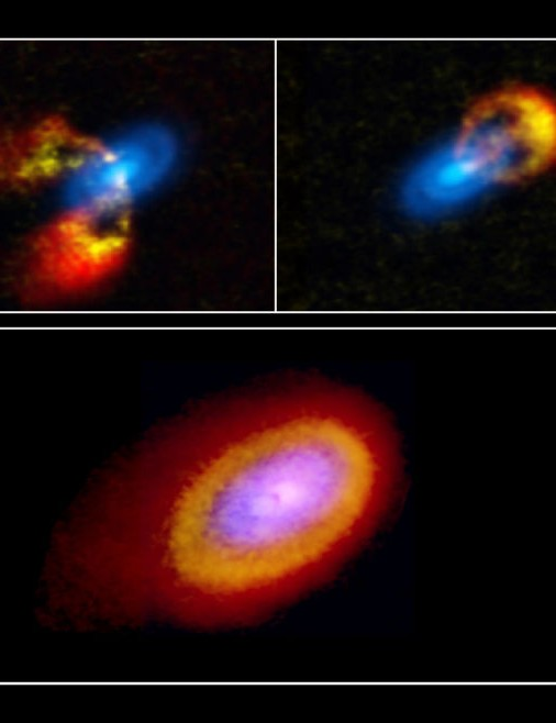 Gravitational instability leading to spirals in the disk around Elias 2-27 ALMA, 17 JUNE 2021 Image credit: T. Paneque-Carreño, NRAO/AUI/NSF, B. Saxton