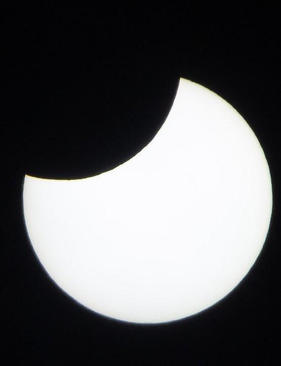 Partial eclipse Theresa Selley, Cheltenham Equipment: Canon 600D DSLR, Tamron 300mm lens