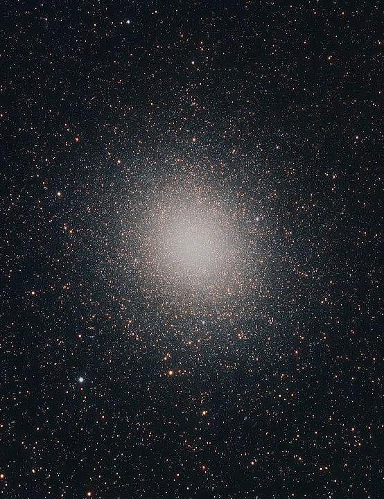 Omega Centauri (NGC 5139), Fernando Oliveira de Menezes, Campos do Jordão- SP – Brazil, 6 May 2021. Equipment: ZWO ASI6200MC camera, Sky-Watcher Esprit 150ED apo refractor, iOptron CEM60 mount