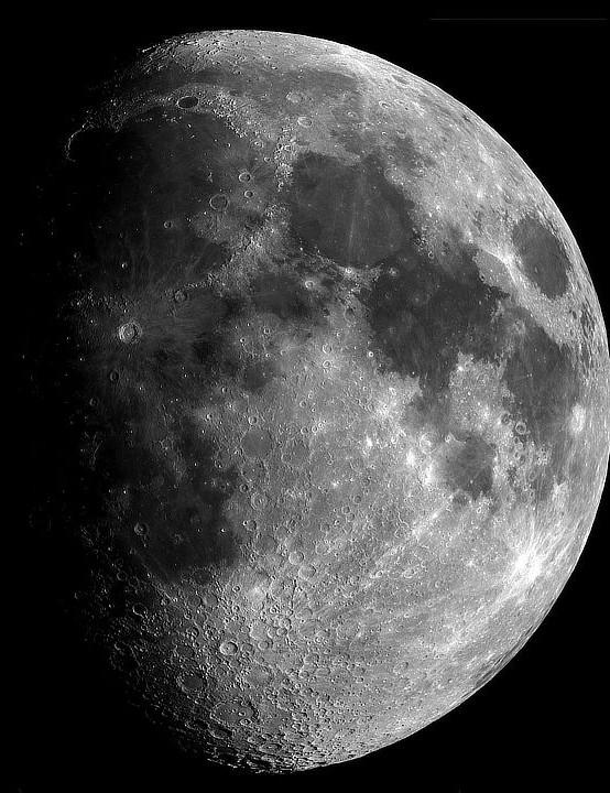 The Moon, David Ettie, Washington, Tyne and Wear, 20 June 2021. Equipment: ZWO ASI 178MM camera, Celestron 9.25-inch SCT, Sky-Watcher HEQ5 Pro mount