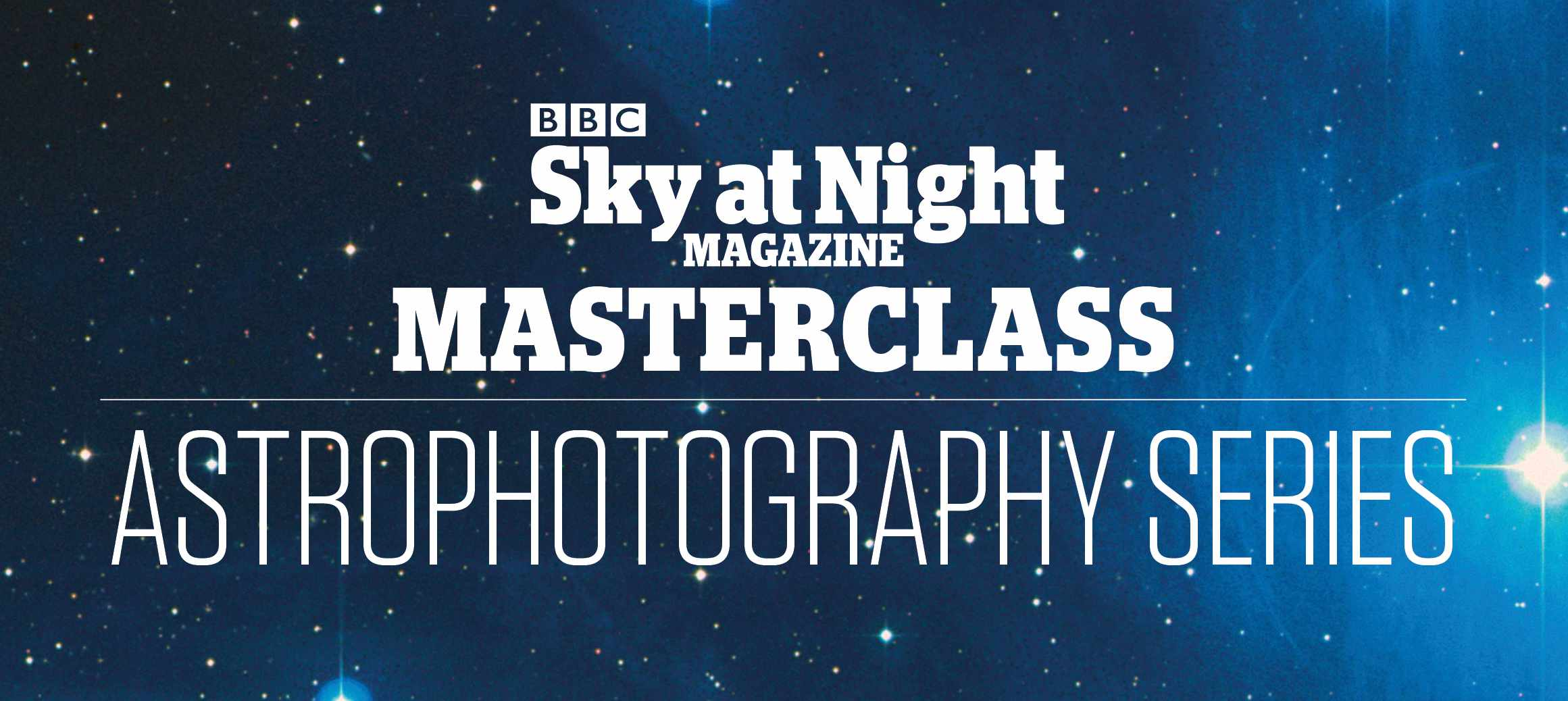 BBC Sky at Night Magazine Astrophotography Masterclass logo
