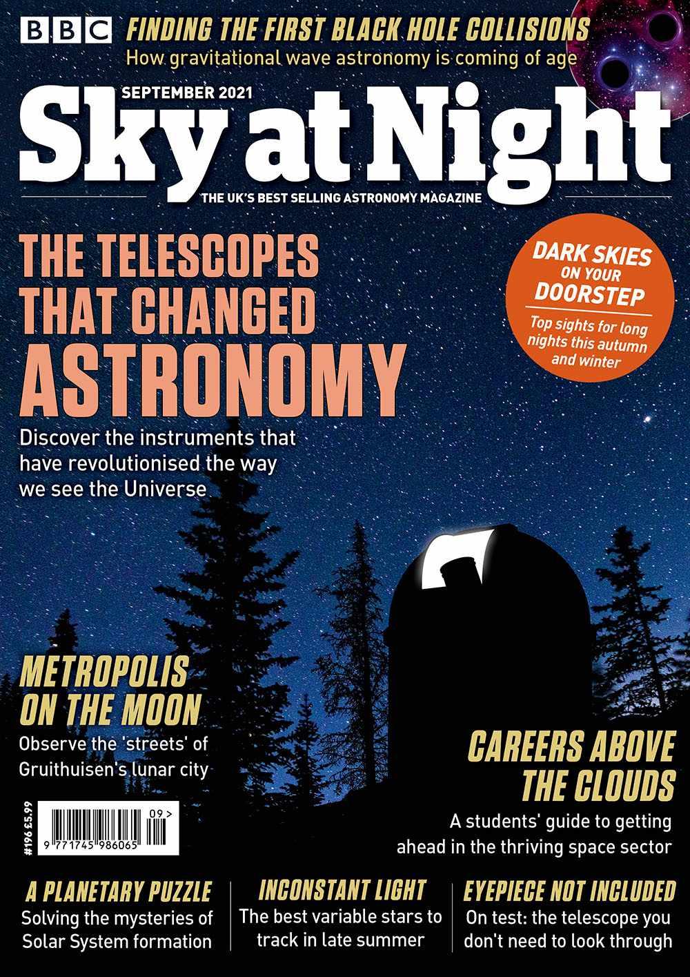 BBC Sky at Night Magazine September 2021 issue