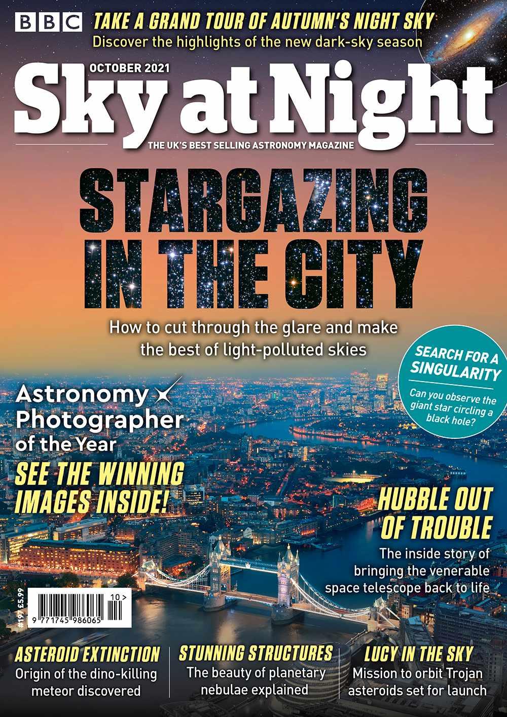 BBC Sky at Night Magazine October 2021 issue