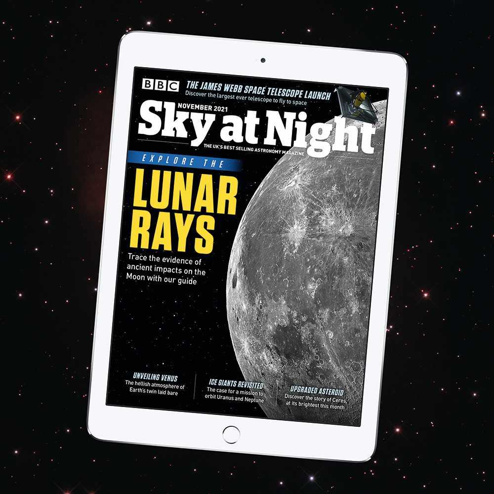 BBC Sky at Night Magazine November 2021 issue