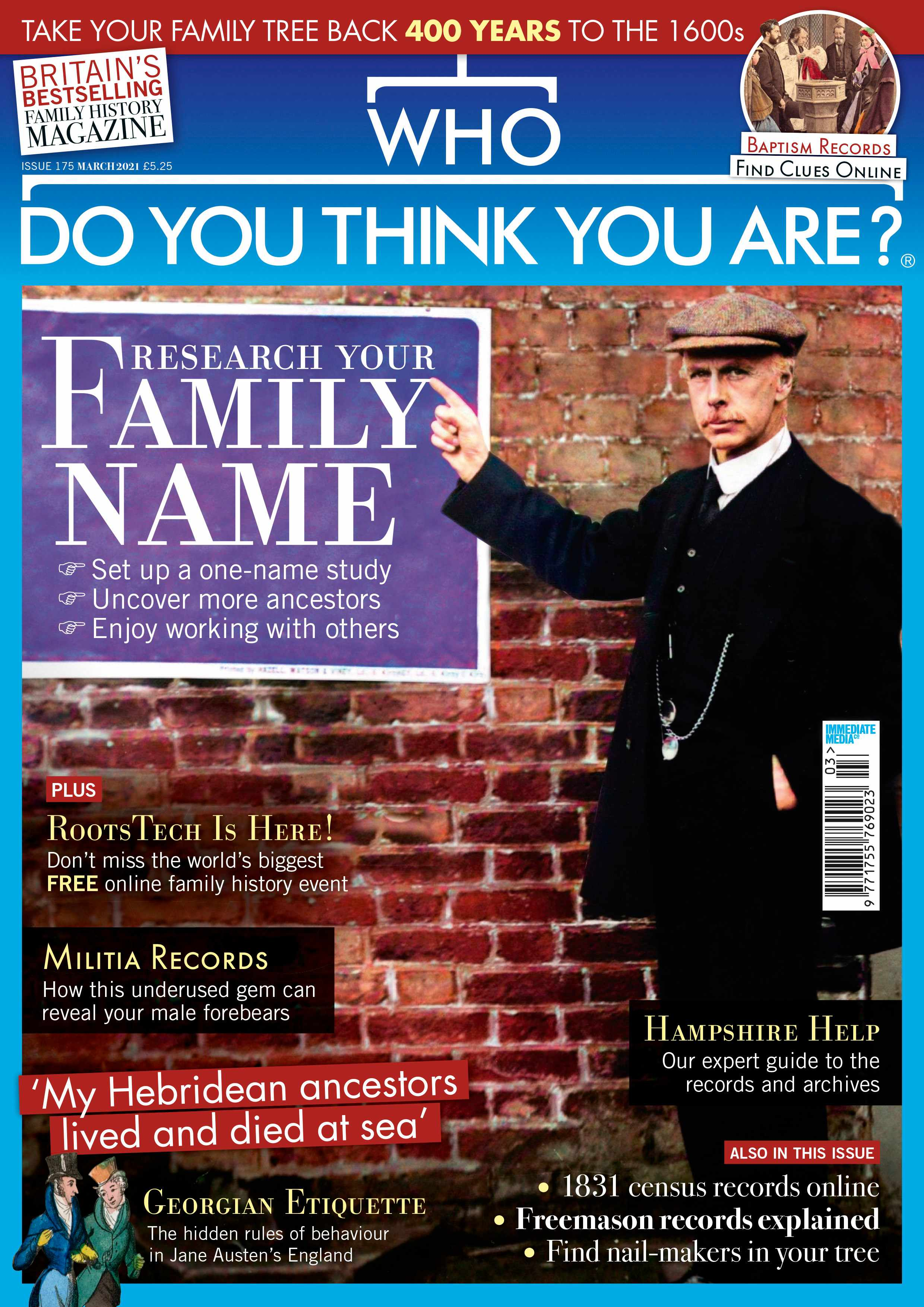Who Do You Think You Are? Magazine March 2021