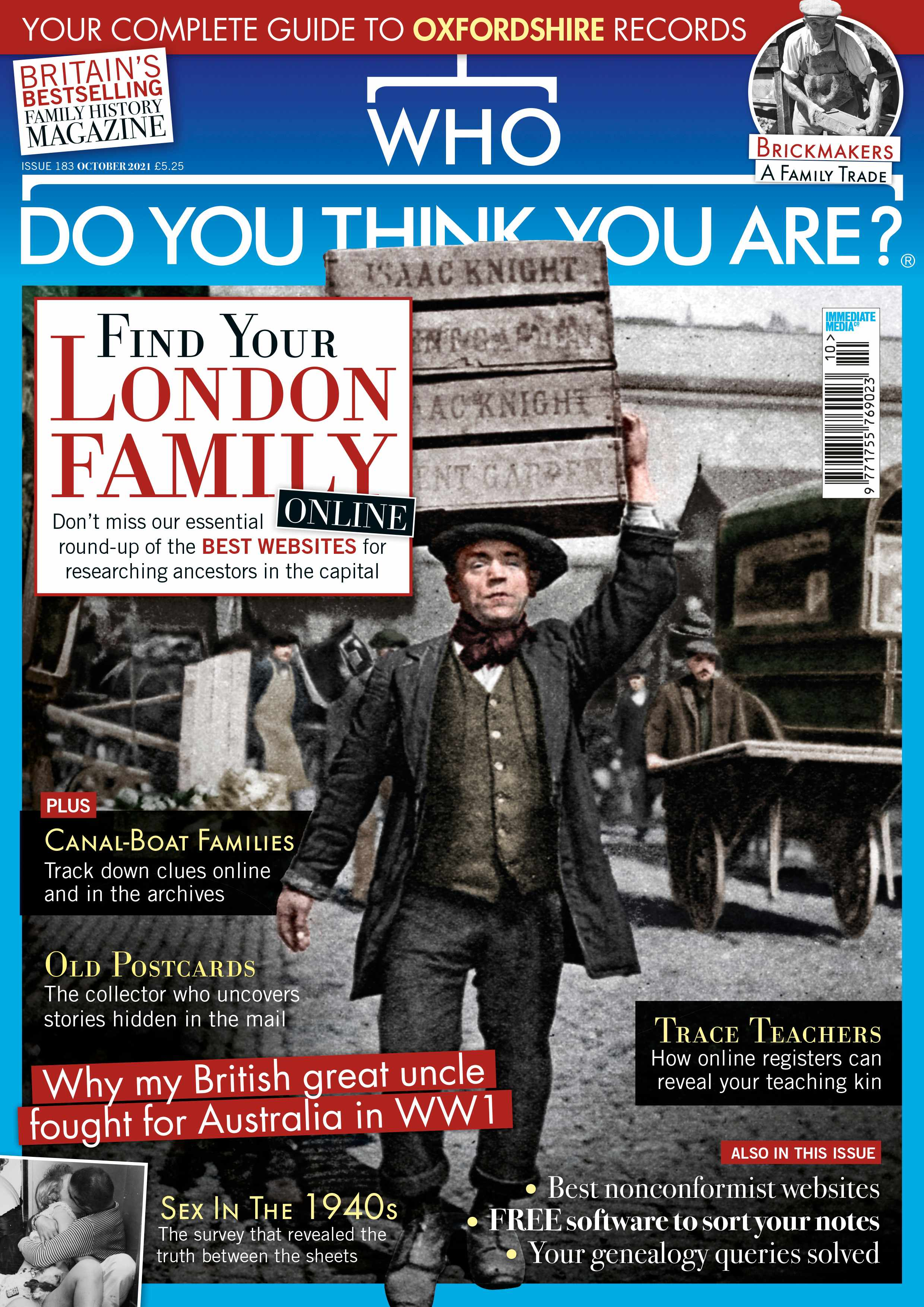 Who Do You Think You Are? Magazine October 2021