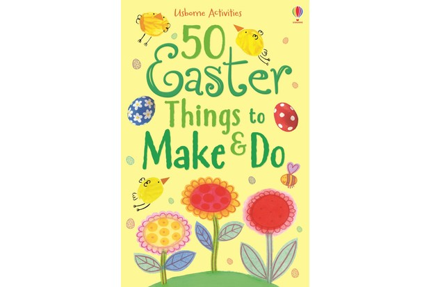 Book Cover 50 Easter things to make and do