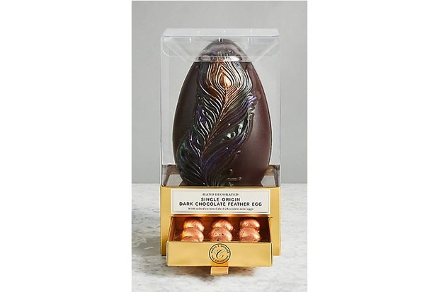 m&s feather egg