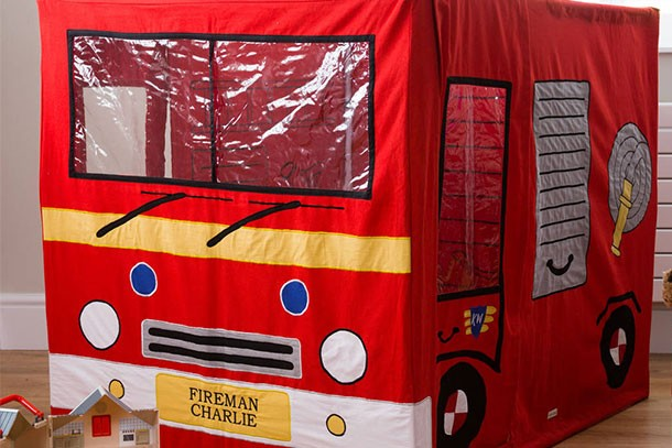 kiddlewinkles fire engine play tent