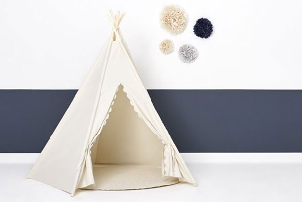 little green sheep kids teepee play tent
