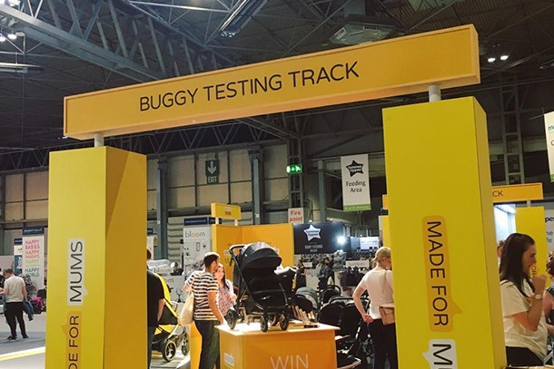 Buggy testing track 1