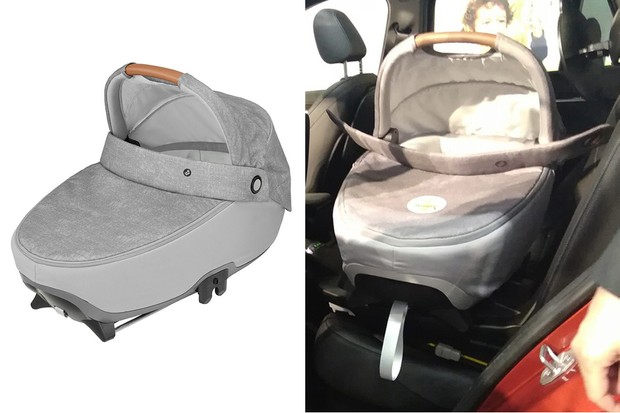 Maxi-Cosi Jade car seat in and out of car