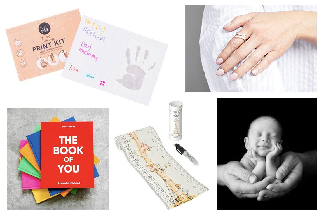 Newborn Baby Keepsake Inkless Print Kit Without Retail Packaging