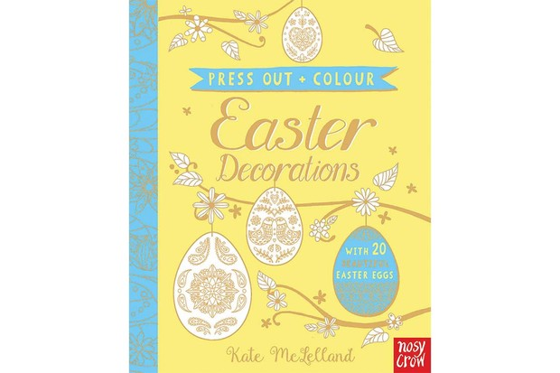 easter decoration book