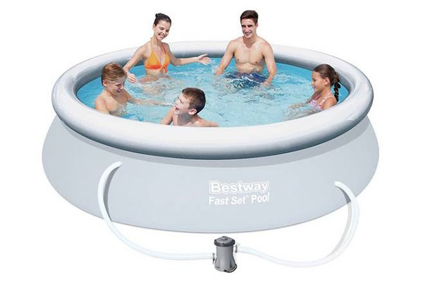 Bestway Quick Up Pool Set and Cover 10ft