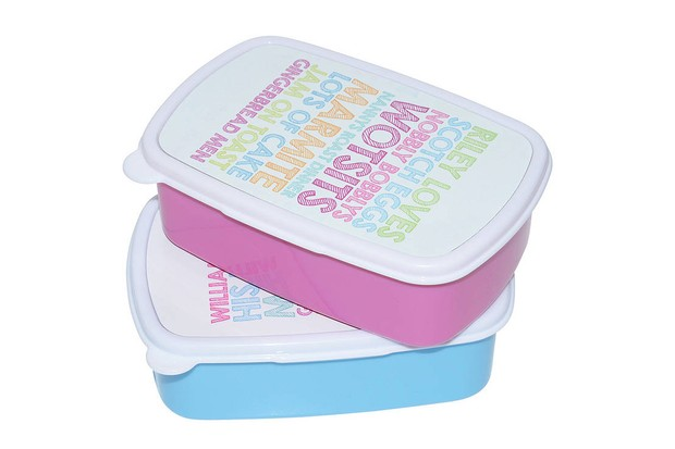 notonthehighstreet personalised lunchbox