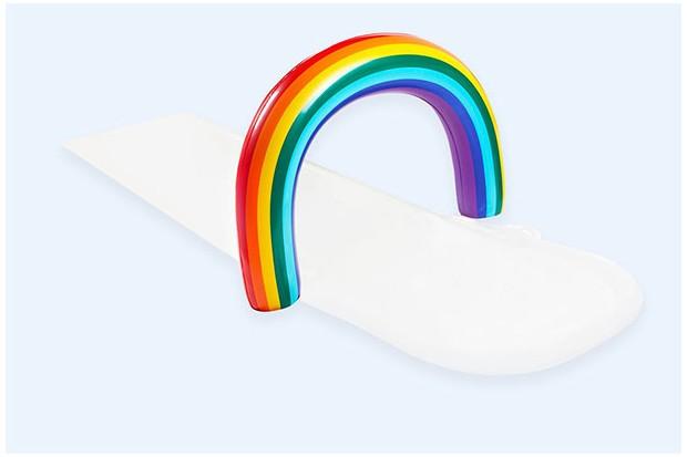slip slide splash rainbow
