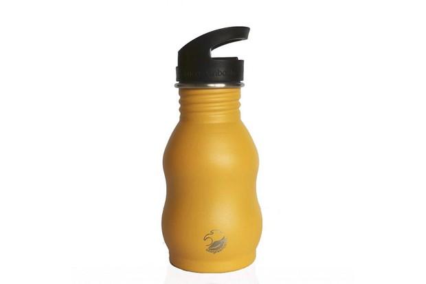stainless steel curvy bottle