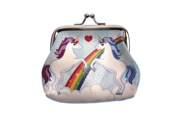 Multicoloured Unicorn Purse