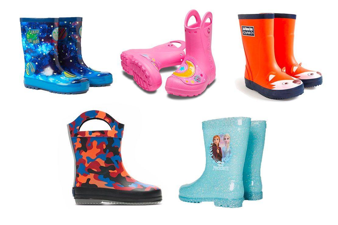 Best children's wellies for rainy days